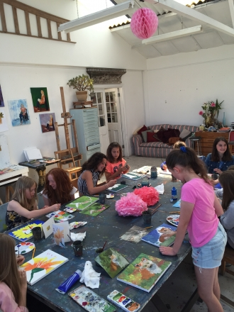Arty Party painting